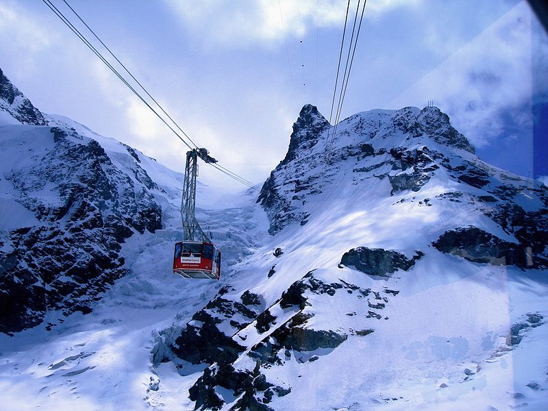 Klein Matterhorn Cable Car, Switzerland