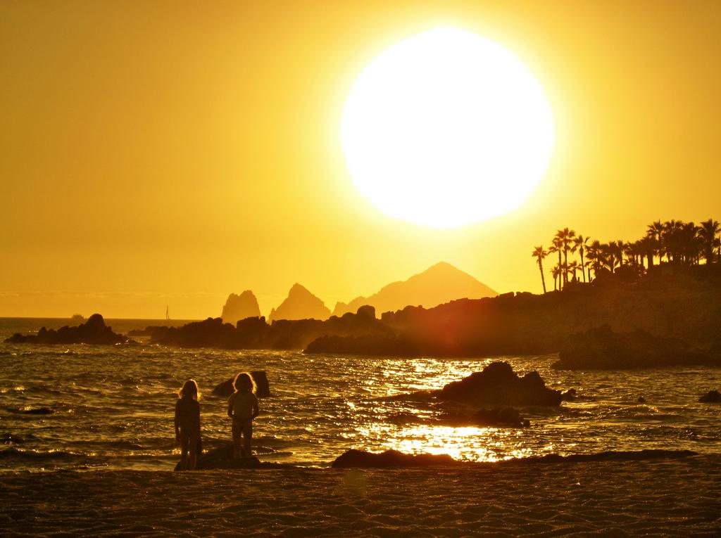 Afterglow in Baja, Esperanza, Mexico
