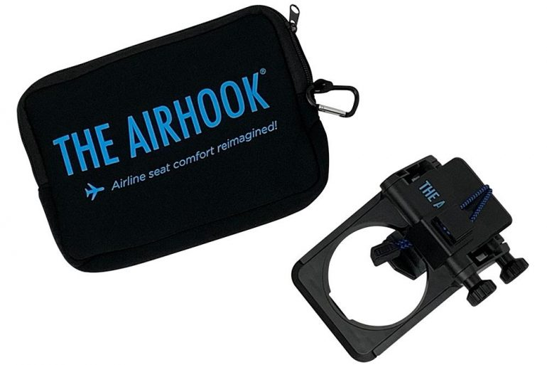 Airhook 2.0 (with neoprene travel pouch)