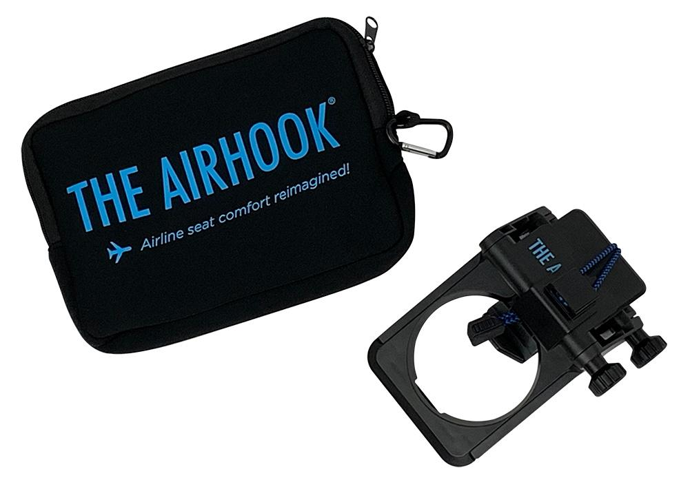 Airhook Looks to Reinvent the Traditional Airplane Tray Table — Vagabondish
