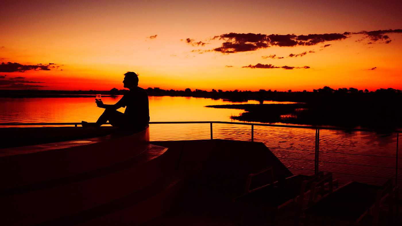 Photo Of The Moment Another Stunning Sunset On The Chobe