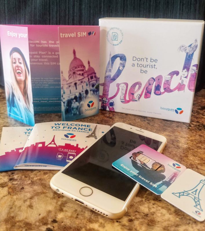 Bouygues Telecom's Travel SIM Card Simplifies Your European Mobile Data Needs — Vagabondish