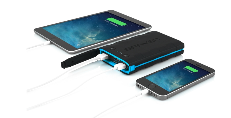 BRAVEN BRV-Bank Portable Rugged Backup Battery