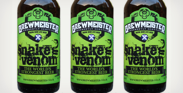 World's Strongest Beer: Brewmeister Snake Venom (Scotland)