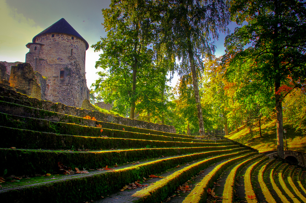 "CÄ""sis Castle, Latvia"