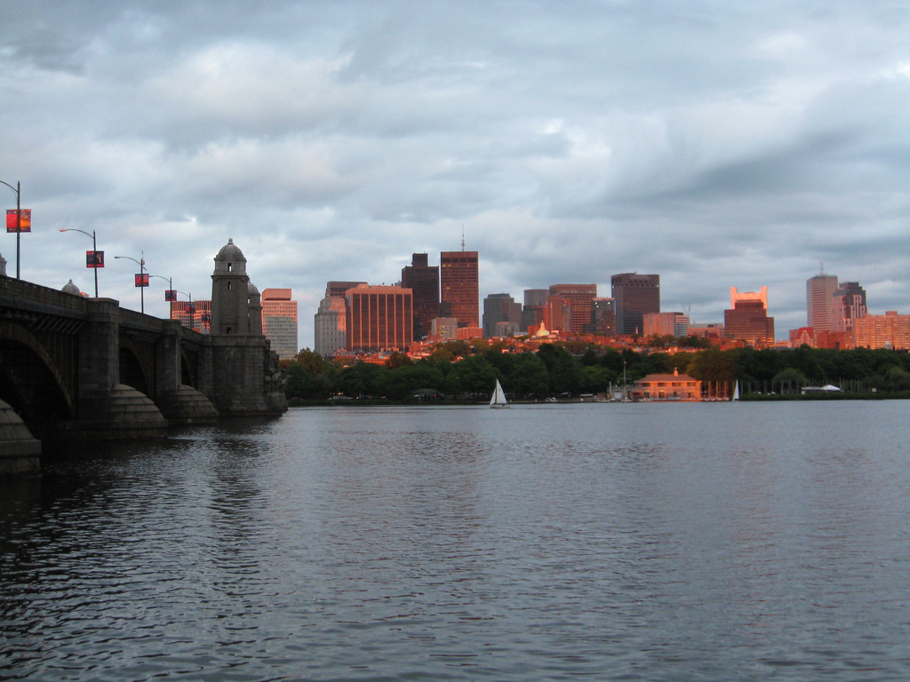 Charles River in Cambridge, Massachusetts