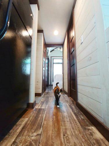 CreekFire Motor Ranch (Savannah, GA) - Hallway in Cabin 01