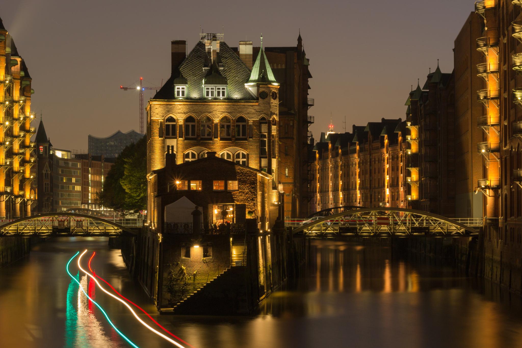 Das Wasserschloss, Hamburg, Germany