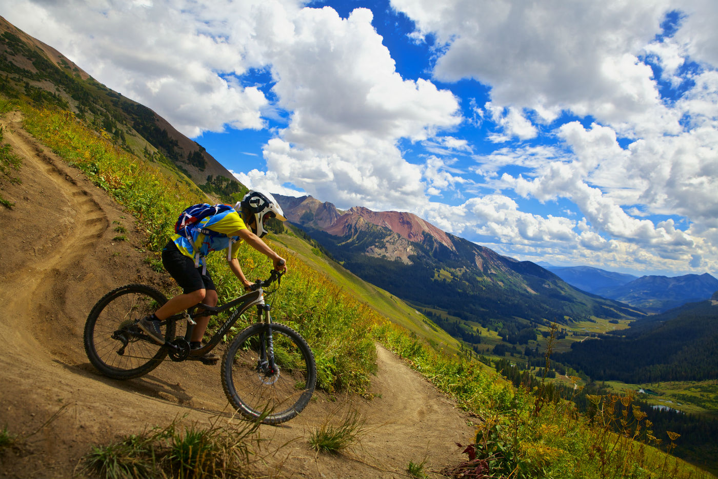Downhill Biking in Crested Butte, Colorado