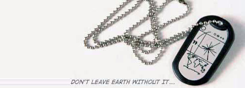 Location Earth Dog Tags