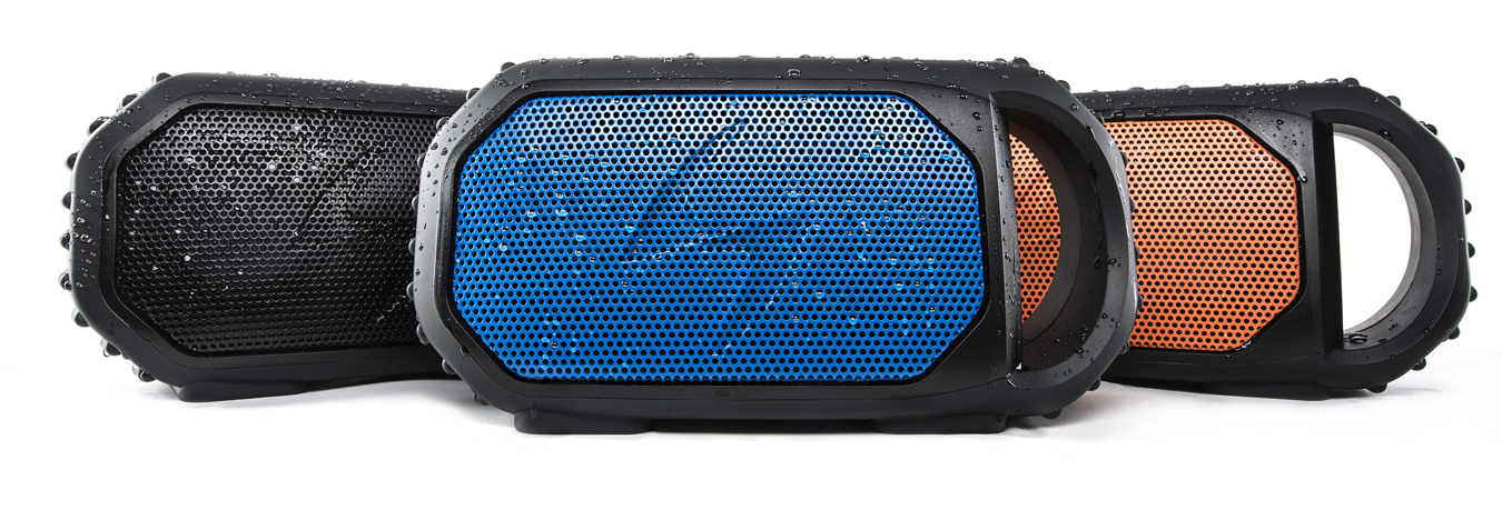 ECOSTONE Shockproof Bluetooth Travel Speaker