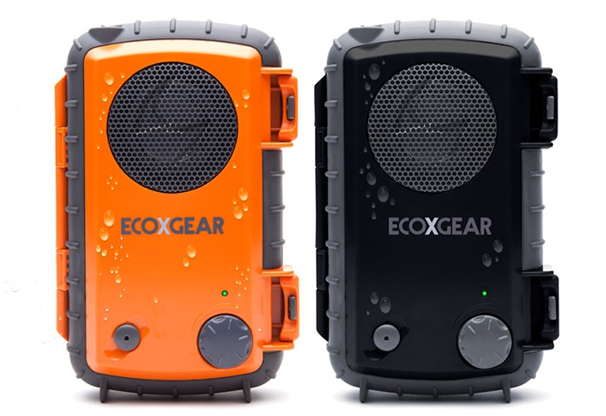 ECOXGEAR ECOXPRO Waterproof Speaker Case for MP3 Player/Smartphone