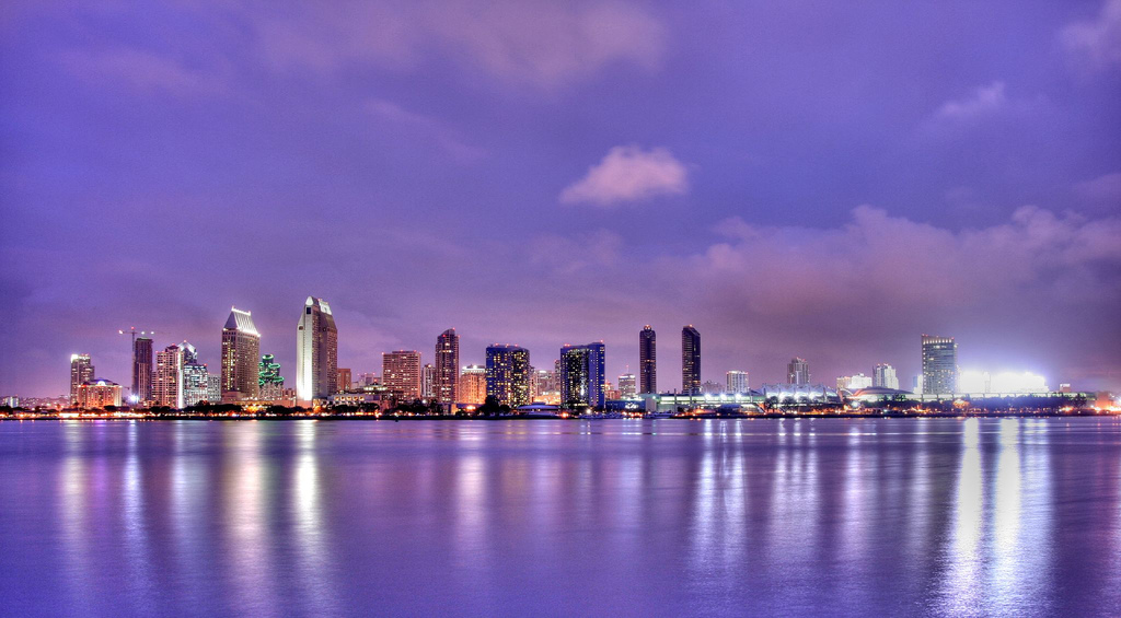 An Evening on Coronado Island, San Diego, California