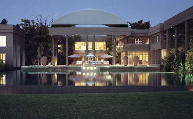 Pool at Saxon Hotel, Johannesburg, South Africa
