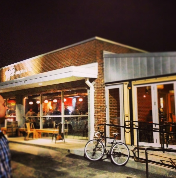 Trophy Brewing in downtown Raleigh