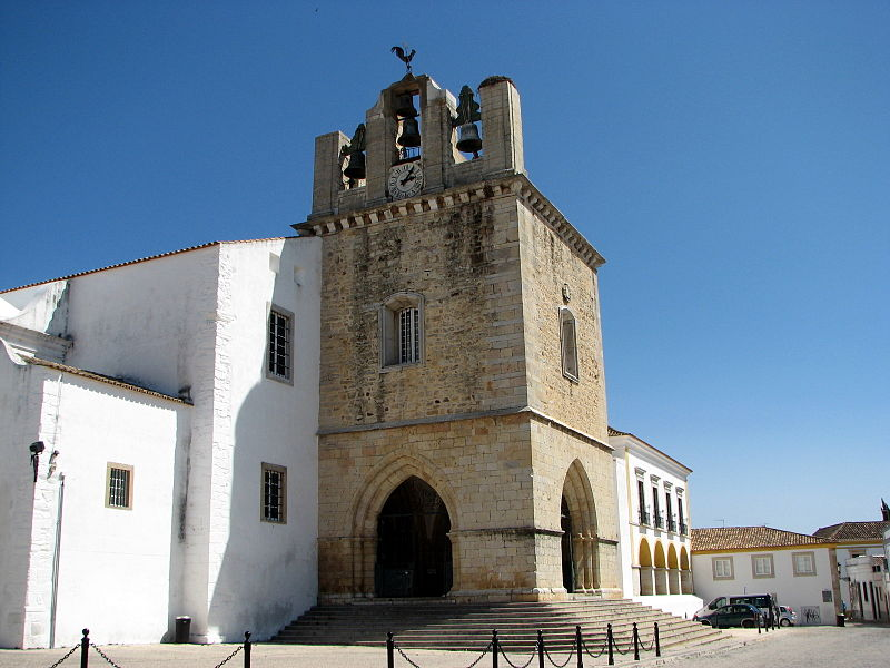 Faro Cathedral, Portugal (exterior)