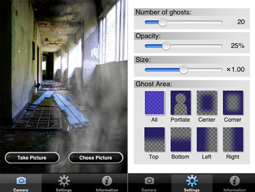GhostCam iPhone Application