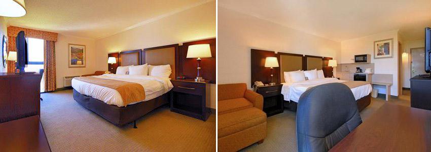 Guestroom at Comfort Inn Oceanside, Deerfield Beach, Florida