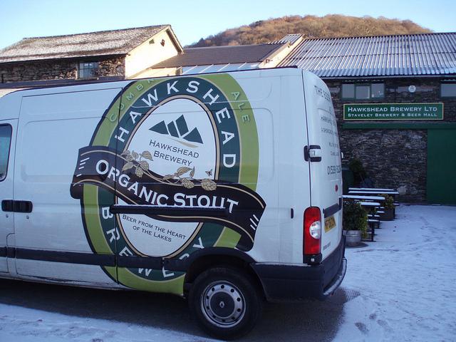 Hawkshead Brewery Van, England