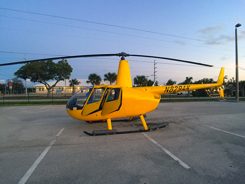 Florida Keys Helicopter Flight