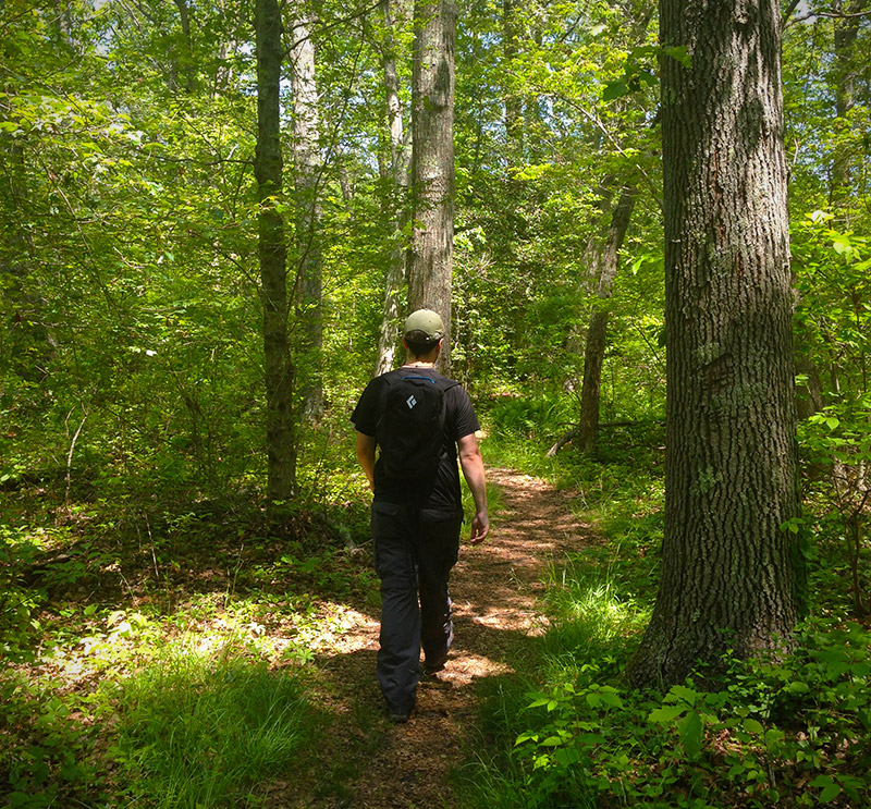 Hiking Fort Barton with the Black Diamond Bullet 16 Backpack