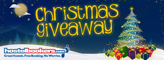 HostelBookers.com Christmas Giveaway