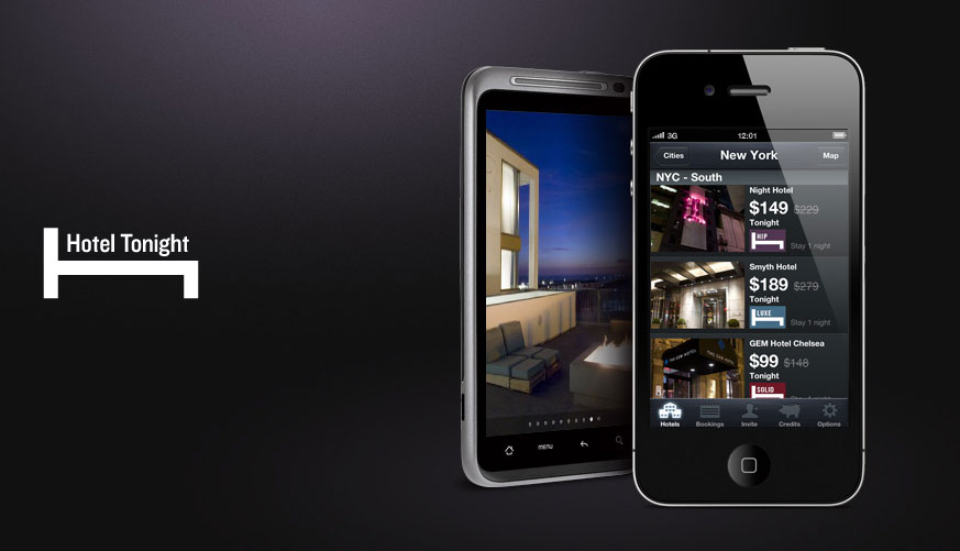 HotelTonight Mobile App
