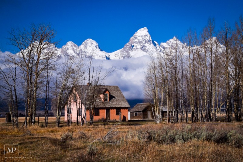 House Near Jackson Hole, Wyoming