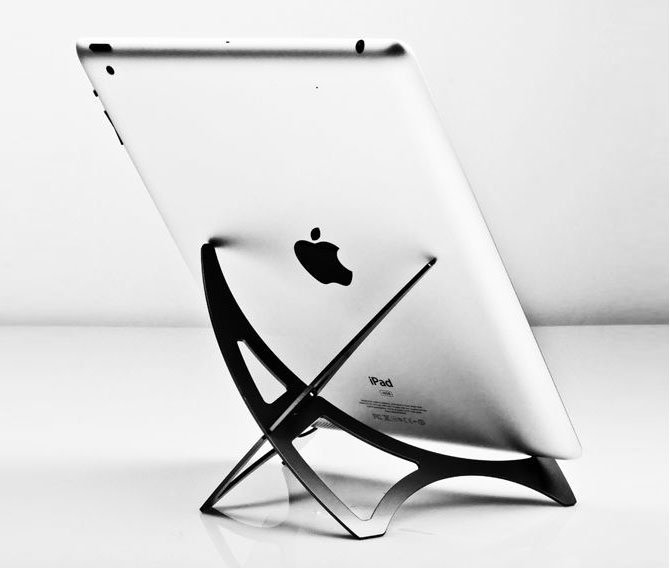 Hub Innovations Prizm 2-Piece Aluminum Stand for Tablets