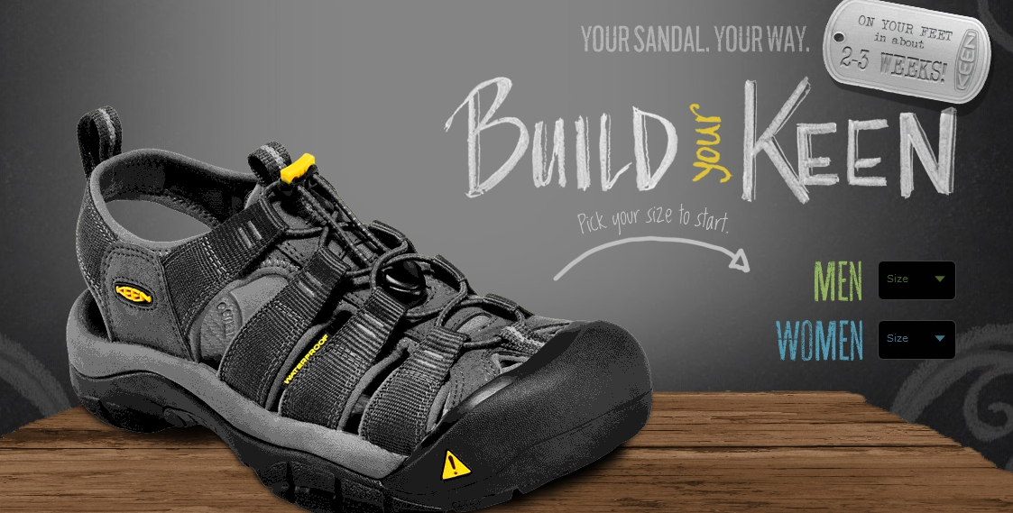 6e86bdac5dcb KEEN s Latest Newport H2 Sandals Are Designed Entirely by You ...