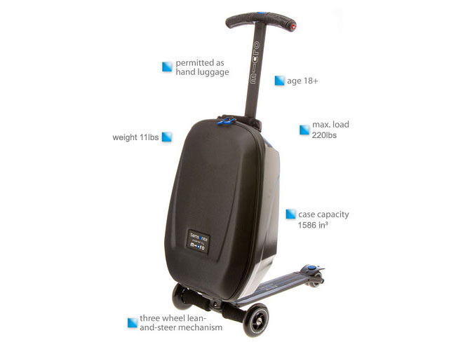 Kickboard Micro Luggage Scooter