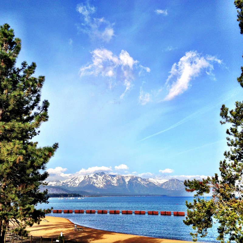 Lake View from Guestroom Balcony at The Landing Resort & Spa, Lake Tahoe, California