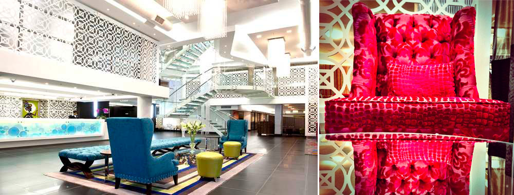 Lobby at DoubleTree by Hilton Hotel Cape Town - Upper Eastside, South Africa