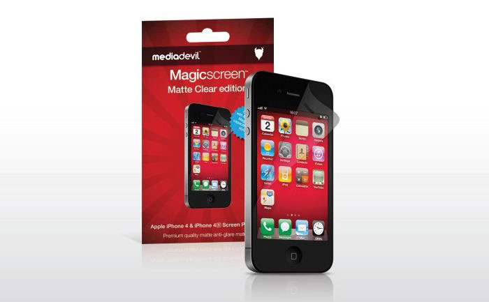 MediaDevil Magicscreen Screen Protector (matte finish for iPhone 4)