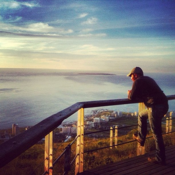 Travel Blogger, Mike Richard, in Cape Town, South Africa