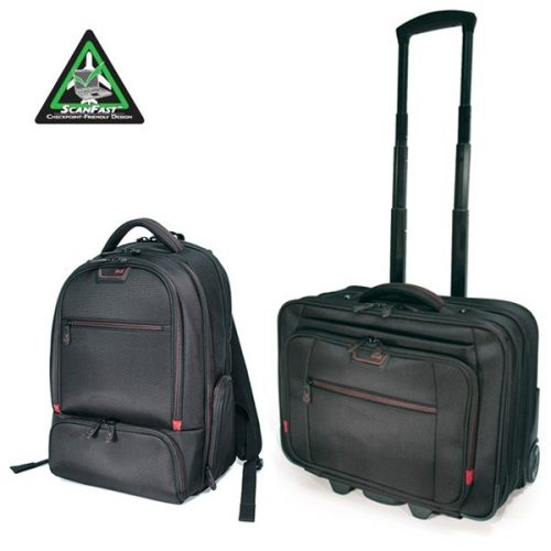 Mobile Edge Professional Backpack and Rolling Case Combo