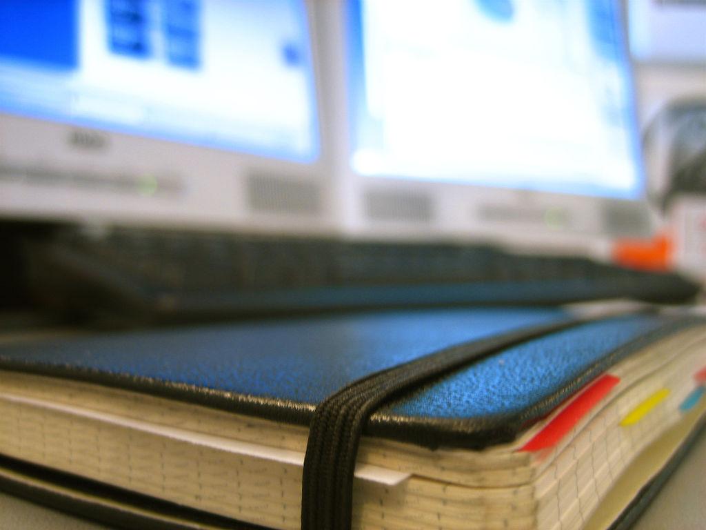 Moleskin Notebook (closeup)