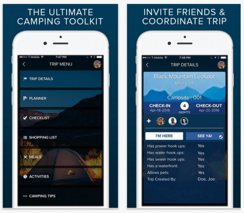 Plan Your Next Camping Trip with the Moonlight Mobile App