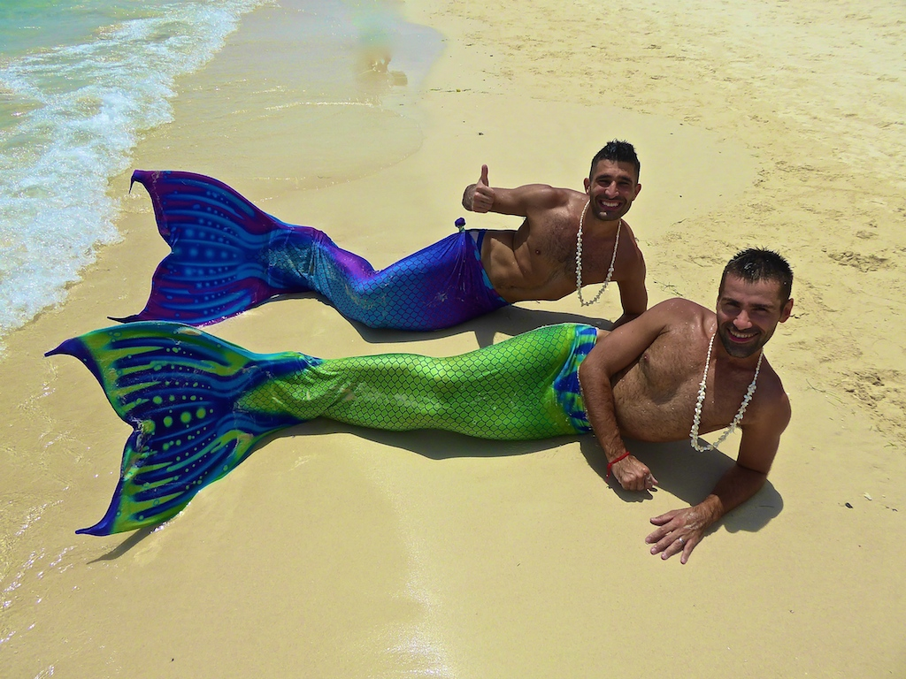 Nomadic Boys as Mermaids in Boracay, Philippines (June 2015)