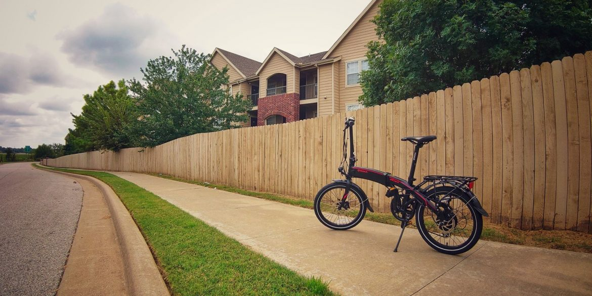 Oyama CX E8D Series II Electric Folding Bike