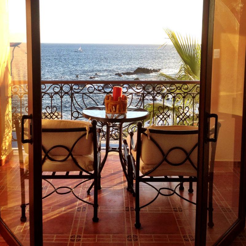 Oceanfront suite at Hacienda Encantada, Mexico