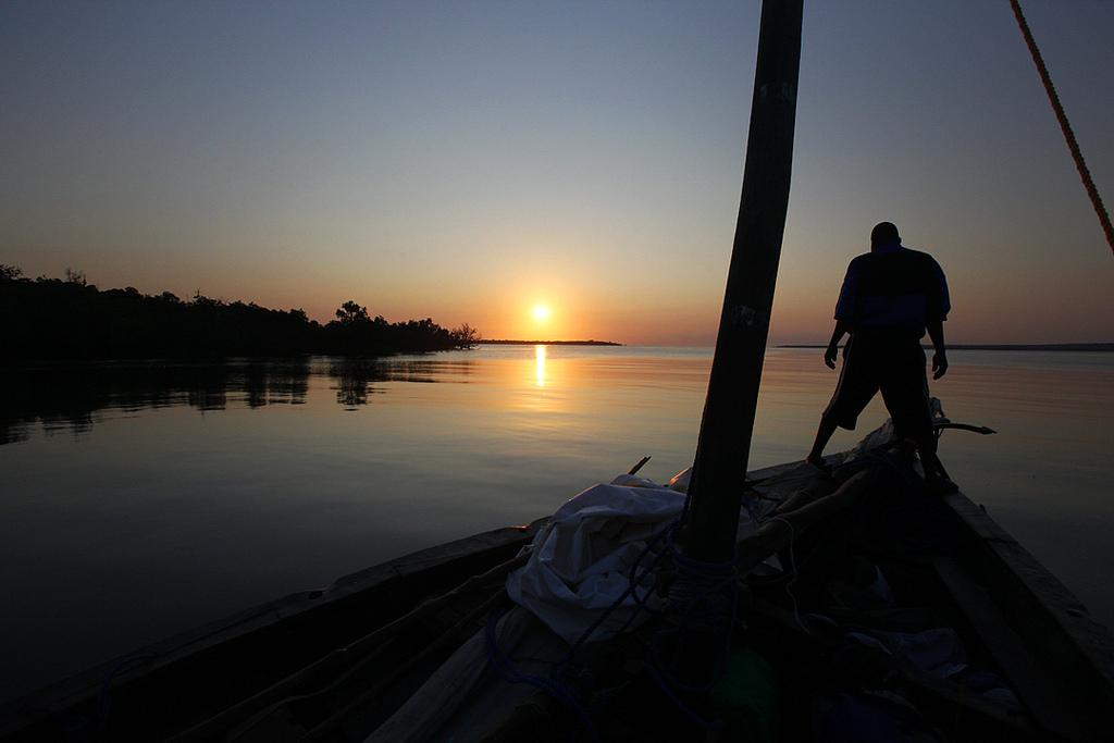 Setting Sail at Sunrise, Mozambique