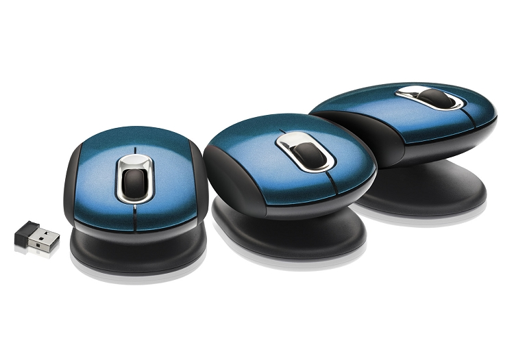 Smartfish Whirl Mini Laser Mouse (blue)