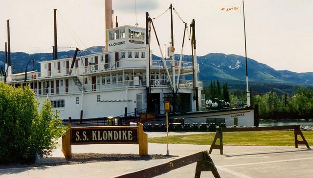 Paddlewheeler SS Klondike in Whitehorse, Yukon
