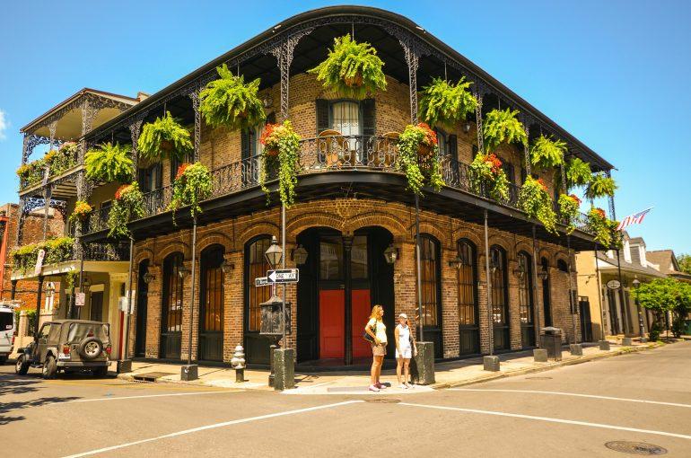 Street Corner in New Orleans