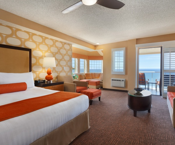 Guest Suite at SeaCrest Oceanfront Hotel in Pismo Beach, California