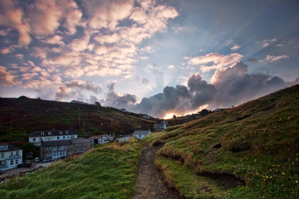 Sunrise Over Mullion Cove, Cornwall, United Kingdom