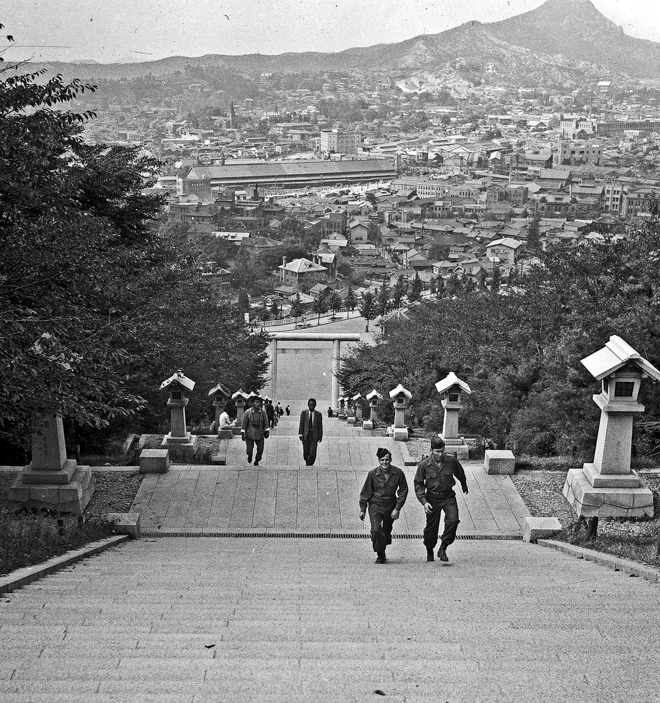 Photo Of The Moment: Ascending The Temple Steps, Seoul