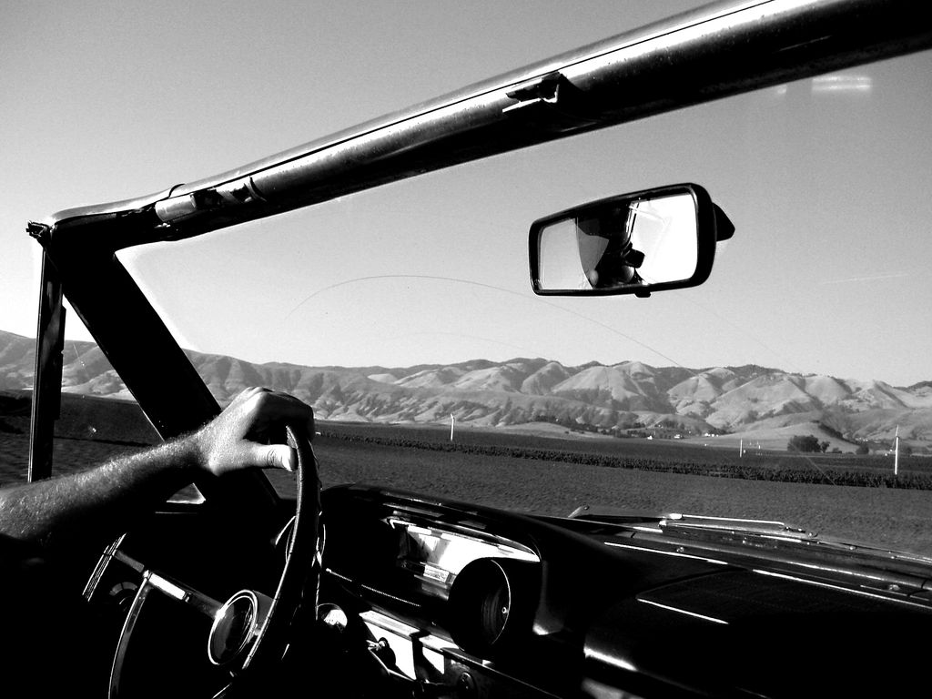 Top Down Cruising in San Luis Obispo, California
