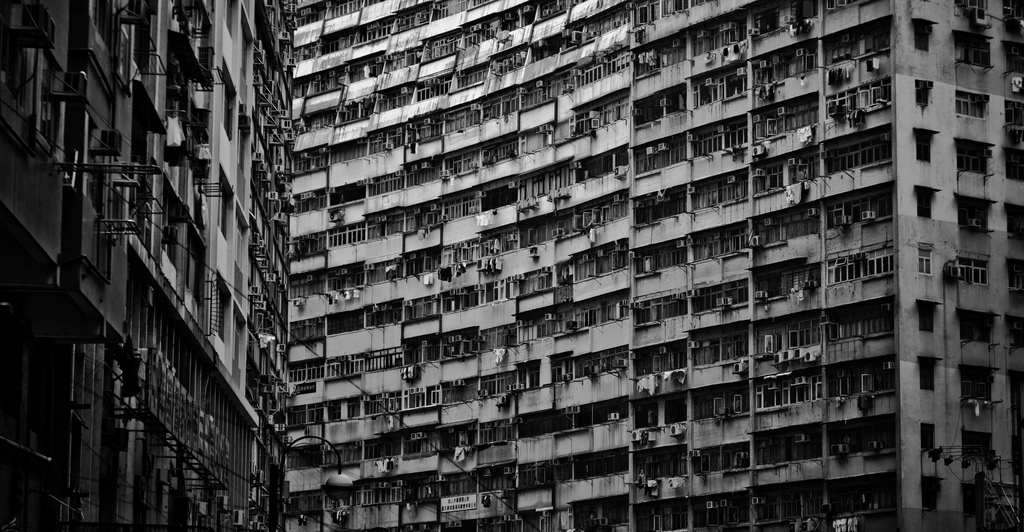 The Urban Monoliths of Hong Kong, China